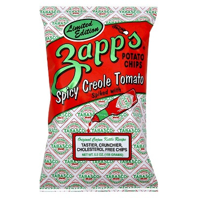 Zapp's Spicy Spicy Creole Tomato Potato Chips - 5.5 oz