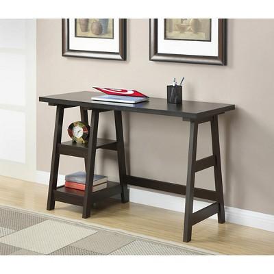 Trestle Desk Espresso - Breighton Home : Target