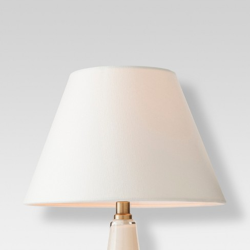 eb8279357bd Modified Empire Fabric Lamp Shade - Small - White - Threshold™   Target