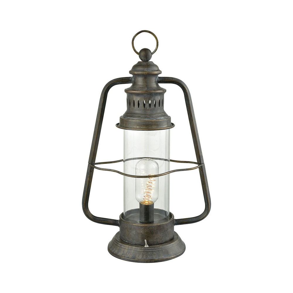 Herrington Table Lamp Gray (Includes Energy Efficient Light Bulb) - Pomeroy