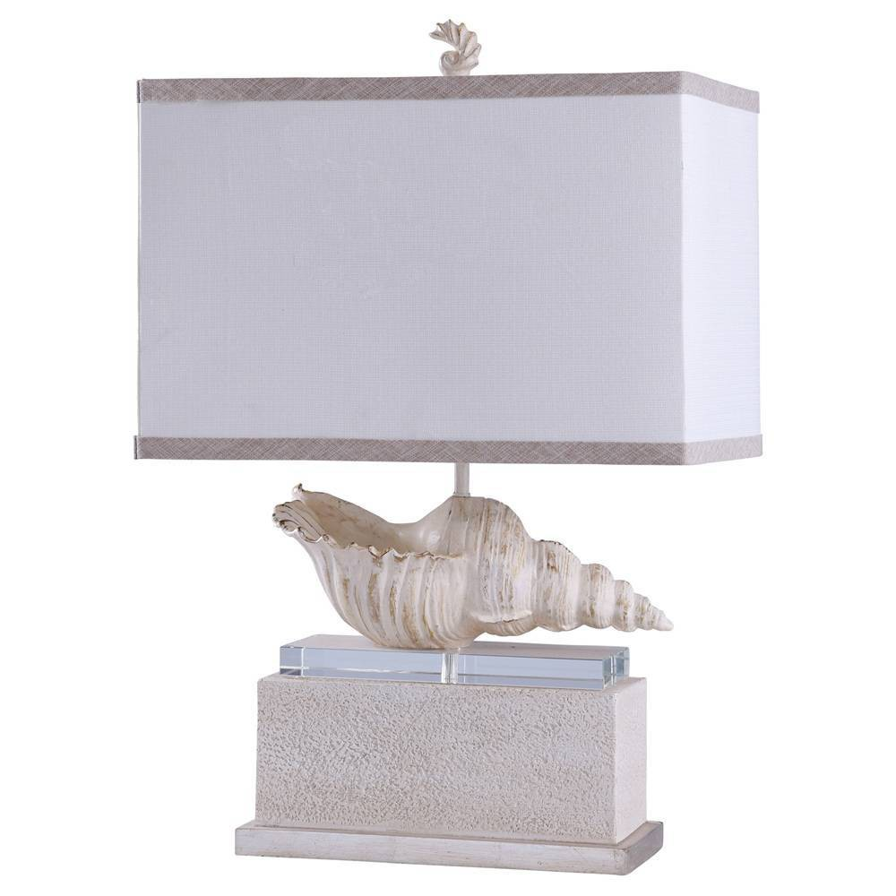 Kelletia Table Lamp Off White (Includes Light Bulb) - StyleCraft