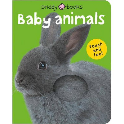 BRIGHT BABY T F BABY ANIMALS - by Roger Priddy (Board Book)