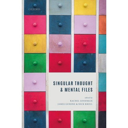 Singular Thought and Mental Files - (Hardcover) - image 1 of 1