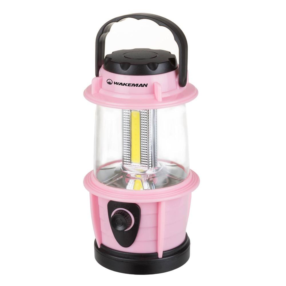 Wakeman Adjustable Led Camping Lantern Pink