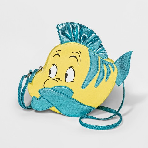 Girls' Disney Princess Ariel Crossbody Bag - Yellow - image 1 of 1
