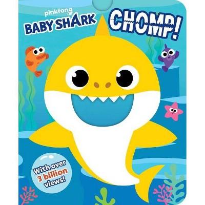 Pinkfong Baby Shark: Chomp! (Crunchy Board Books)- (Board_book)