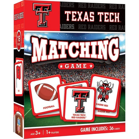 NCAA Texas Tech Red Raiders Matching Game - image 1 of 2