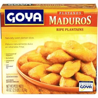 Goya Frozen Platanos Maduros - 40oz