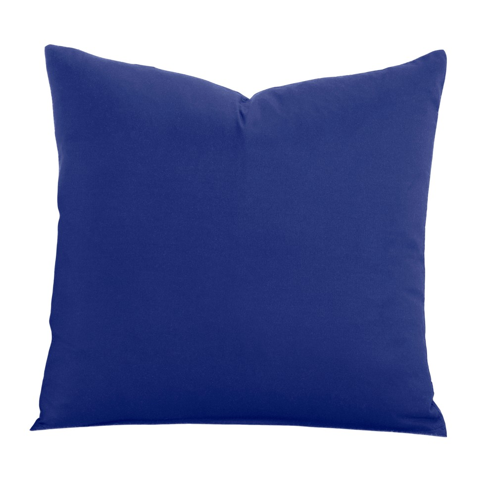 Image of Blue 26 Throw Pillow - Learning Linens