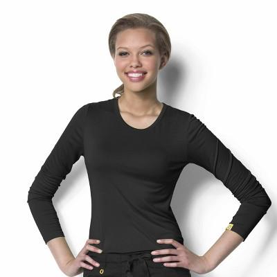 WonderWink Women's Silky Long Sleeve Tee