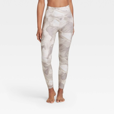 """Women's Contour Power Waist High-Rise Leggings 26"""" - All in Motion™ - image 1 of 4"""