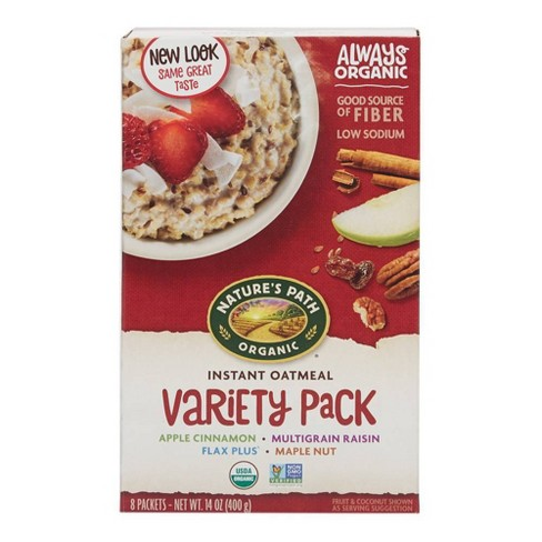 Nature's Path Variety Pack Oatmeal - 8ct - image 1 of 4