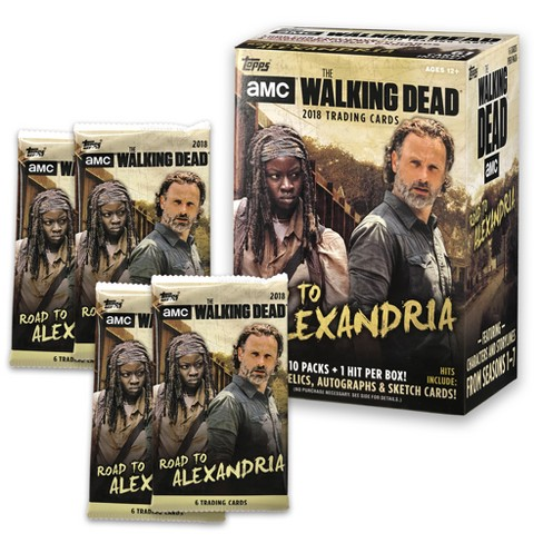 AMC The Walking Dead Road to Alexandria Full Box