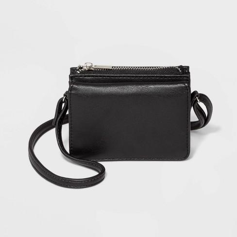 Small Crossbody Bag Wallet Wild Fable Black