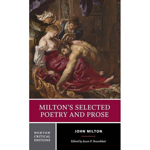 Milton's Selected Poetry and Prose - (Norton Critical Editions) by  John Milton (Paperback) - image 1 of 1
