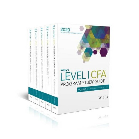 Wiley's Level I Cfa Program Study Guide 2020 - (Paperback) - image 1 of 1