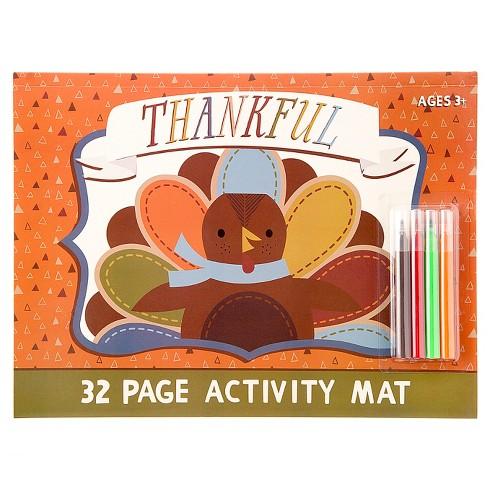 Harvest Thankful Activity Mat  - Spritz™ - image 1 of 1