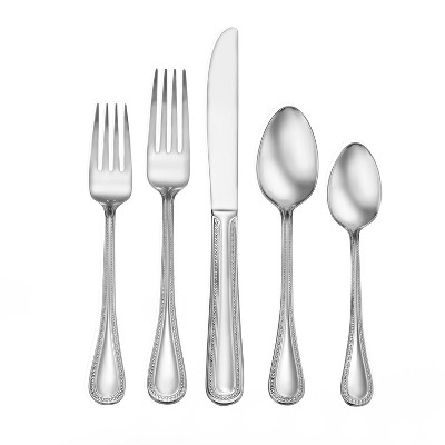 86pc Stainless Steel Calverton Silverware Set - Studio Cuisine