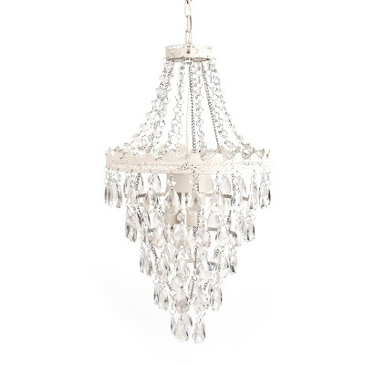 Tadpoles Pendant Lamp Chandelier - White Diamond