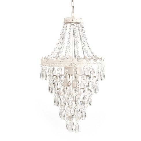 Tadpoles Pendant Lamp Chandelier White Diamond