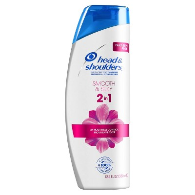 Shampoo & Conditioner: Head & Shoulders Smooth & Silky 2-in-1