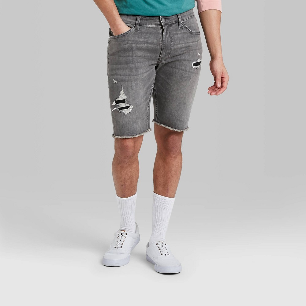 Men 39 S 10 5 34 Slim Fit Jean Shorts Original Use 8482 Black 36