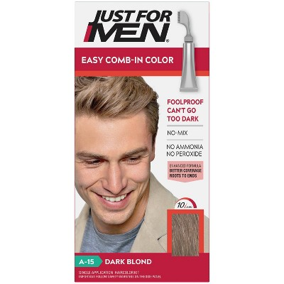 Just For Men Easy CombIn Color Gray Hair Coloring for Men with Comb Applicator - 1.2oz