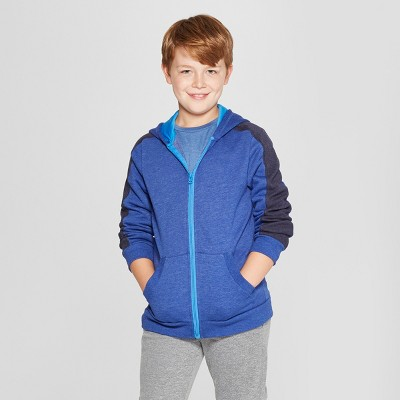 a57769c4bc75 Boys  Authentic Fleece Sweatshirt Full Zip Hoodie - C9 Champion®