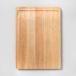 """13""""x18"""" Rubberwood Carving Board - Made By Design™"""