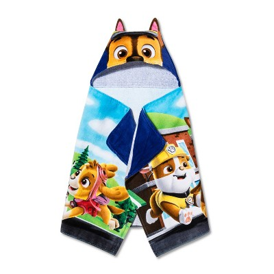 PAW Patrol Paws Rule Hooded Bath Towel