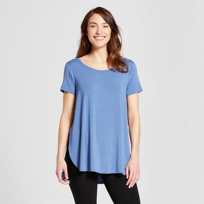 Women's Nursing Sleep T-Shirt - Gilligan & O'Malley™ Blue Willow XL