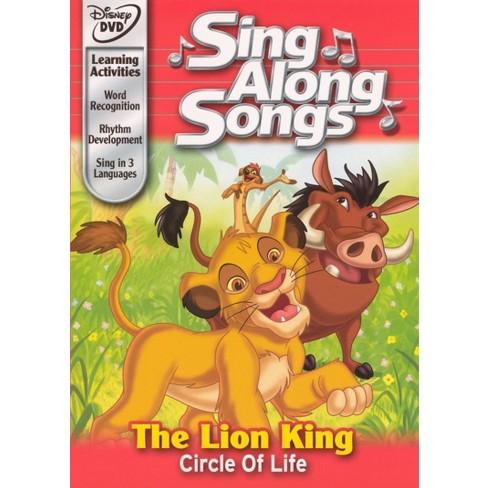 Sing Along Songs: Lion King - Circle of Life (dvd_video) - image 1 of 1