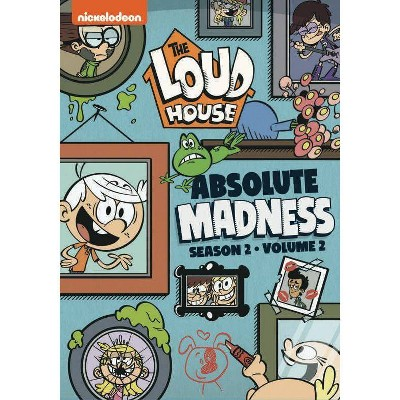 The Loud House: Absolute Madness – Season 2, Volume 2 (DVD)