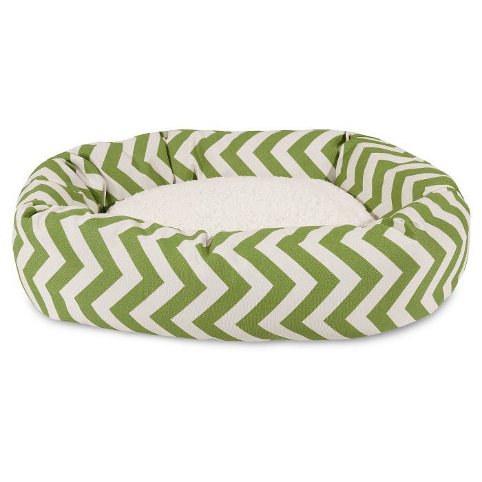 Majestic Pet® Chevron Sherpa Bagel Dog Bed - image 1 of 2