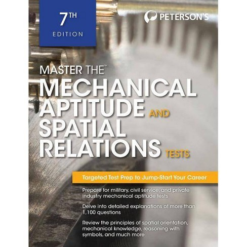 Master the Mechanical Aptitude and Spatial Relations Test - 7 Edition by  Peterson's (Paperback) - image 1 of 1