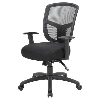 Contract Mesh Task Chair Black - Boss