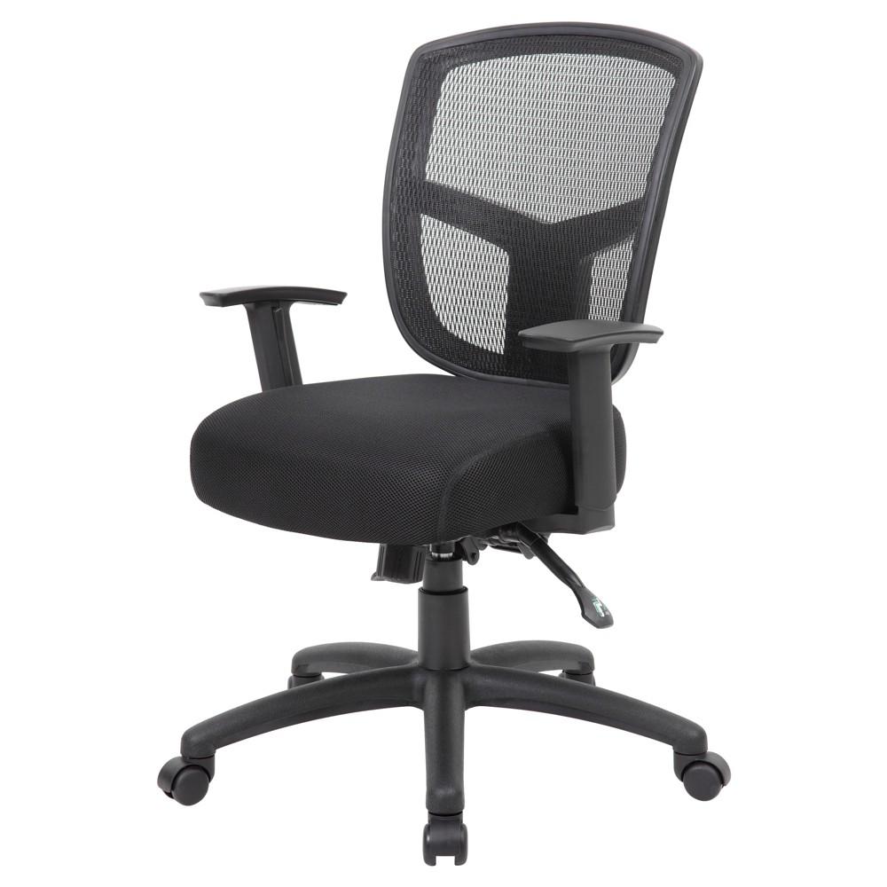 Contract Mesh Task Chair Black - Boss