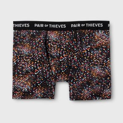 Pair Of Thieves Men's Super Soft Boxer Briefs   Black by Black
