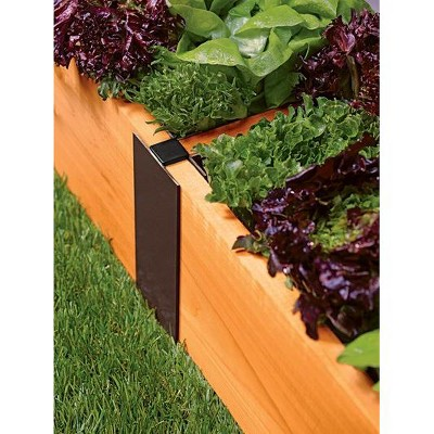 Raised Bed Extension In-Line Connectors, 10 Inch Set of 2 - Gardener's Supply Company