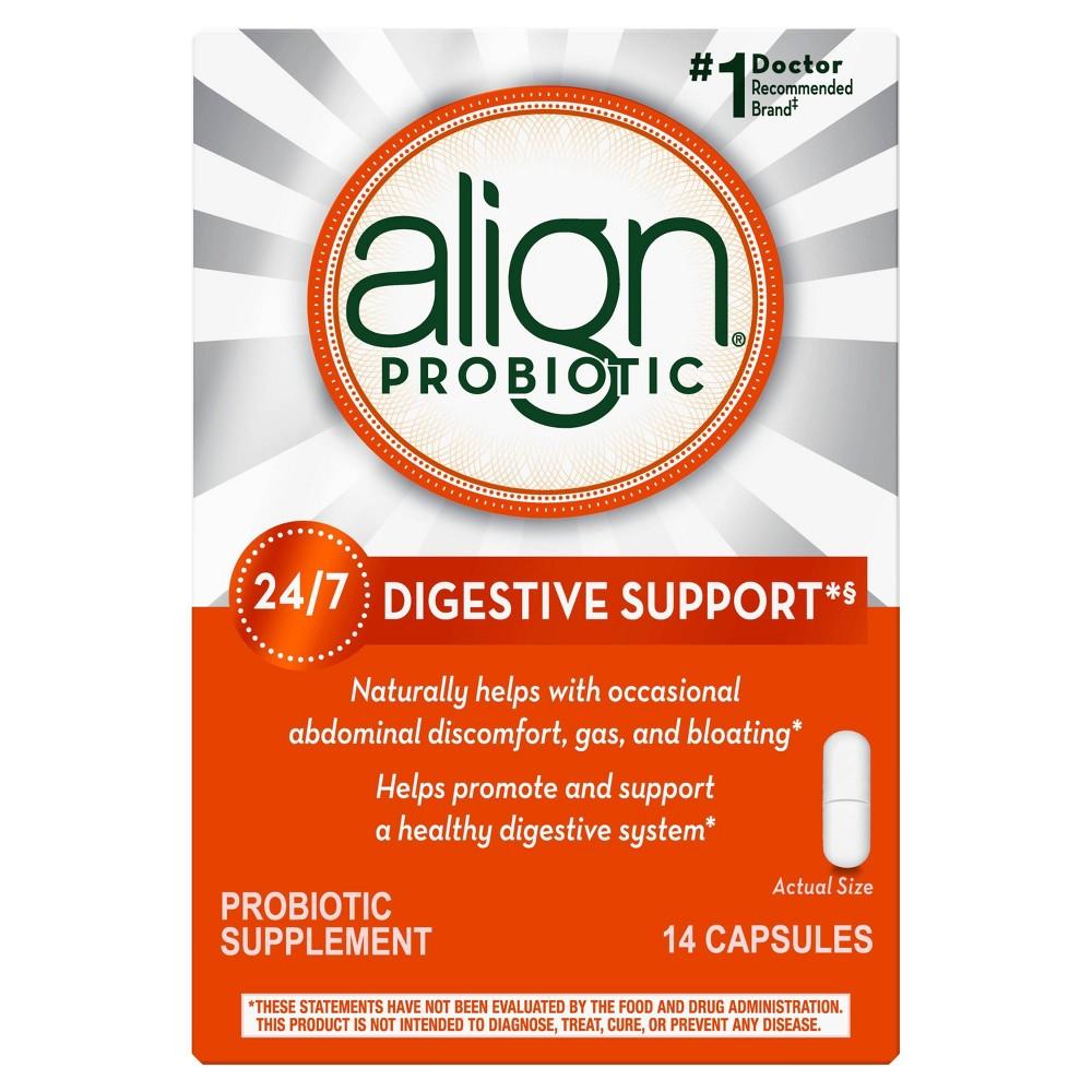 Align Probiotic Supplement Capsules - 14ct
