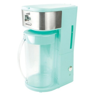 Brentwood Iced Tea and Coffee Maker in Blue with 64 Ounce Pitcher