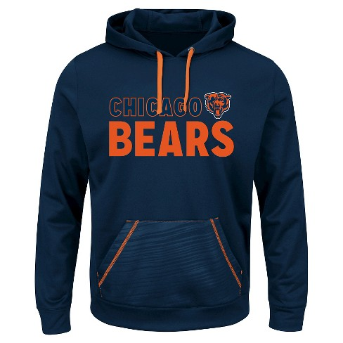 Chicago Bears Men's Performance Pullover Fleece Hoodie Sweatshirt XXL - image 1 of 1