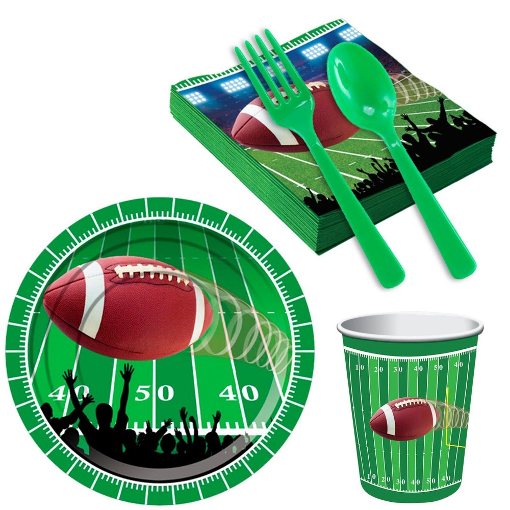 16ct Football Party Snack Pack, Multi-Colored