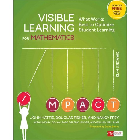 Visible Learning For Mathematics Grades K 12 What Works Best To