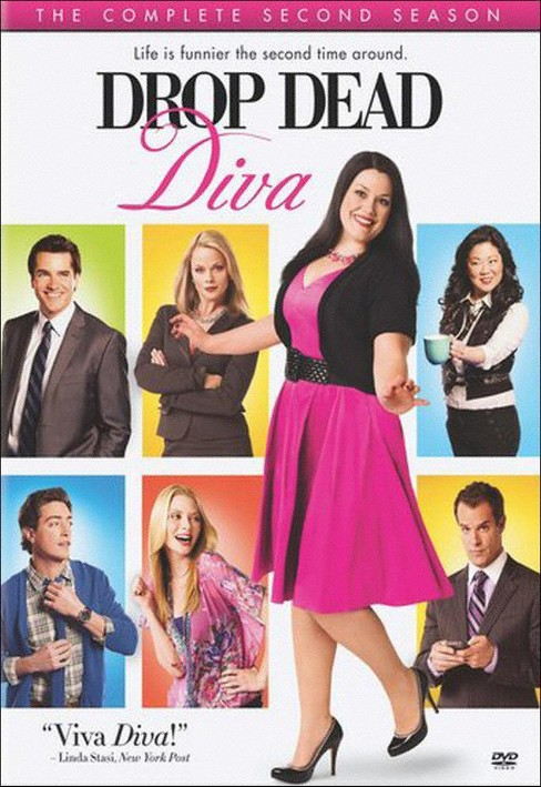 Drop Dead Diva: The Complete Second Season (3 Discs) (dvd_video) - image 1 of 1