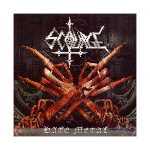 Scourge - Hate Metal (CD) - image 1 of 1