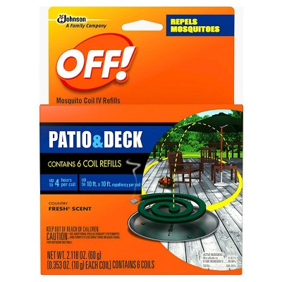 6pk Mosquito Coil Refills - OFF!