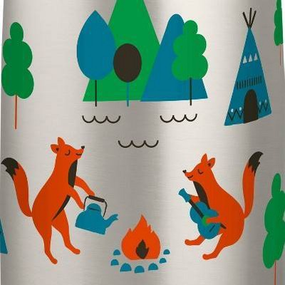 Camping Foxes