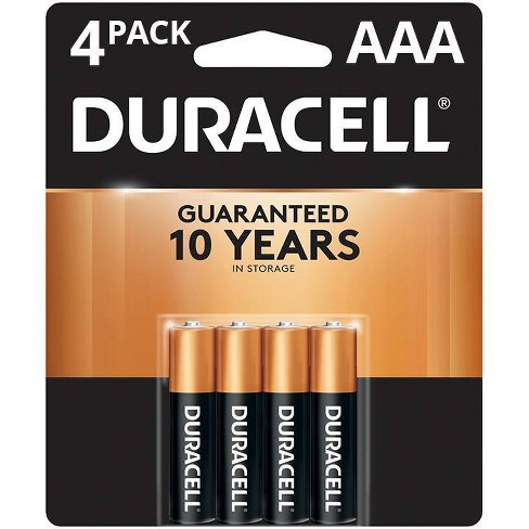 Duracell Coppertop AAA Batteries - 4 Pack Alkaline Battery - image 1 of 4