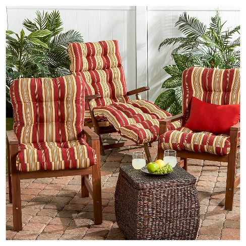 Greendale Home Fashions 38 X 21 In Outdoor Seat And Back Combo Cushion